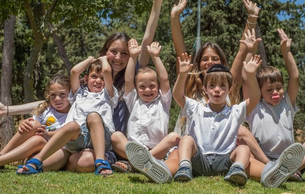 הקשר החם בין הצוות לילדים בגן המיוחד